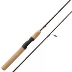 Spinning fishing rod cork handles titanium guides