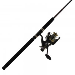 Cod King spinning fishing rod and reel combo