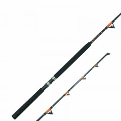 Emery North Sea Shark King solid fiberglasss boat fishing rod with roller guides