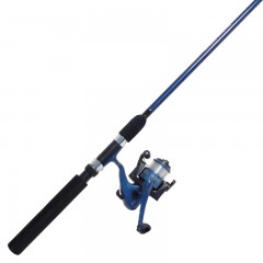 Fishing spinning combo 6 foot rod, prespooled reel