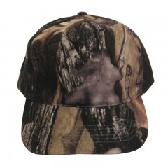 Backwoods Pure Camo hunting cap with no logo