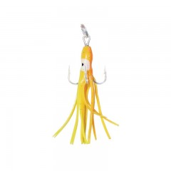 Fishing tackle gear squid hook rigged cod fish