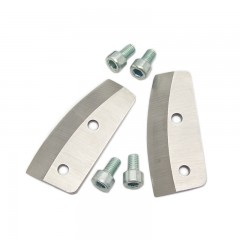 Ice fishing auger replacement epoxy coated blades