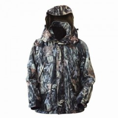 Backwoods Pure Camo Ranger hunting jacket with hood