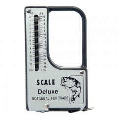 fish scale, fish scale with tape measure, tape measure for fish, fishing tape measure, scale and tape measure for fishing