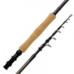 Streamside Elite telescopic fly fishing rods with western style handles