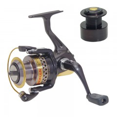 Fishing spinning reel front drag brass gears
