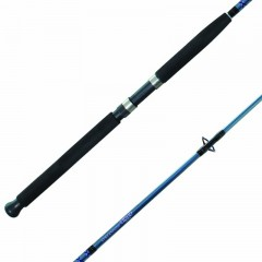 Surf fishing rods, tubular glass, 7