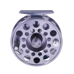 Fly fishing reel centre disc system 1 way clutch