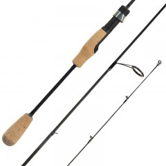Streamside Predator freshwater spinning fishing rods with blank through handle