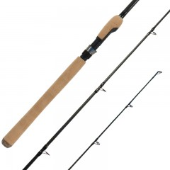 Streamside Predator freshwater spinning fishing rods with solid handle