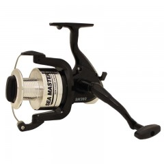 Fishing spinning reel long cast oversize line roller