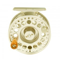 Streamside Harmony gold fly fishing reel