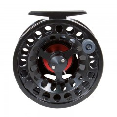 Fly fishing reel large arbour spool anodized aluminum