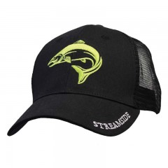Streamside trucker fishing cap