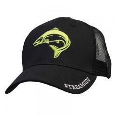 Streamside trucker fishing cap