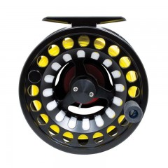 Syphony pre-spooled large arbor fly fishing reel