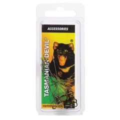 Hooks for Tasmanian Devil fishing lures