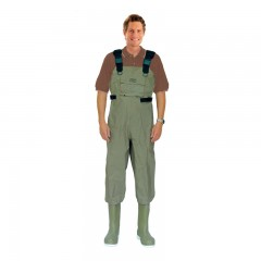 Taslon fishing chest waders for wading in streams, rivers in Canada - Taslon fishing chest waders for wading in streams, rivers in Canada