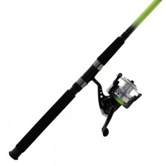 Fishing spinning surf rod reel combo