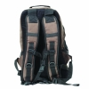 Backwoods Scout camo outdoor hiking backpack back view