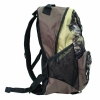 Backwoods Scout camo outdoor hiking backpack side view