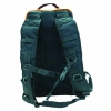 Backwoods 15 litre blaze orange waterproof hunting backpack back view