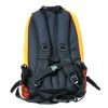 Backwoods blaze orange waterproof hunting backpack back view