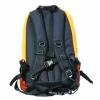 Backwoods blaze orange waterproof hunting backpack back view