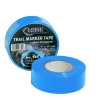 BLUE trail marking tape for hunting and hiking outdoors