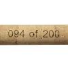 Laser engraved numbered handle